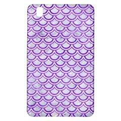 Scales2 White Marble & Purple Watercolor (r) Samsung Galaxy Tab Pro 8 4 Hardshell Case by trendistuff
