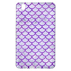 Scales1 White Marble & Purple Watercolor (r) Samsung Galaxy Tab Pro 8 4 Hardshell Case by trendistuff