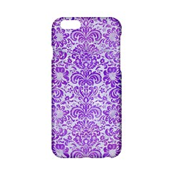 Damask2 White Marble & Purple Watercolor (r) Apple Iphone 6/6s Hardshell Case by trendistuff