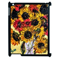 Sunflowers In A Scott House Apple Ipad 2 Case (black) by bestdesignintheworld