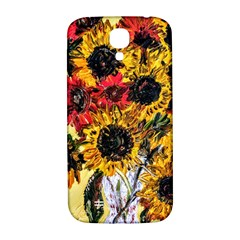 Sunflowers In A Scott House Samsung Galaxy S4 I9500/i9505  Hardshell Back Case