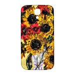 Sunflowers In A Scott House Samsung Galaxy S4 I9500/I9505  Hardshell Back Case Front