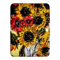 Sunflowers In A Scott House Samsung Galaxy Tab 4 (10 1 ) Hardshell Case  by bestdesignintheworld