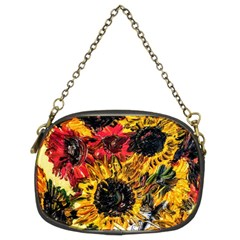 Sunflowers In A Scott House Chain Purses (two Sides)  by bestdesignintheworld