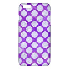 Circles2 White Marble & Purple Watercolor Iphone 6 Plus/6s Plus Tpu Case by trendistuff