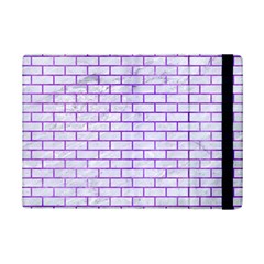 Brick1 White Marble & Purple Watercolor (r) Ipad Mini 2 Flip Cases by trendistuff