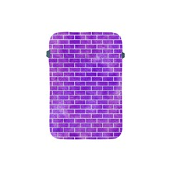 Brick1 White Marble & Purple Watercolor Apple Ipad Mini Protective Soft Cases by trendistuff