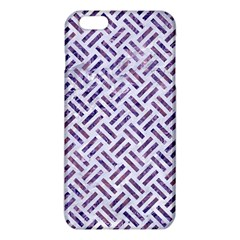 Woven2 White Marble & Purple Marble (r) Iphone 6 Plus/6s Plus Tpu Case by trendistuff