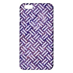 Woven2 White Marble & Purple Marble Iphone 6 Plus/6s Plus Tpu Case