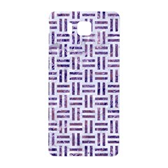 Woven1 White Marble & Purple Marble (r) Samsung Galaxy Alpha Hardshell Back Case by trendistuff