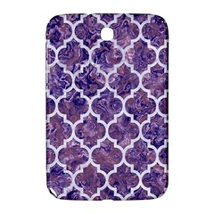 Tile1 White Marble & Purple Marble Samsung Galaxy Note 8 0 N5100 Hardshell Case  by trendistuff