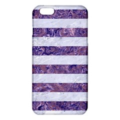 Stripes2white Marble & Purple Marble Iphone 6 Plus/6s Plus Tpu Case by trendistuff