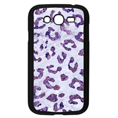 Skin5 White Marble & Purple Marble Samsung Galaxy Grand Duos I9082 Case (black) by trendistuff