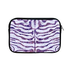 Skin2 White Marble & Purple Marble (r) Apple Ipad Mini Zipper Cases by trendistuff