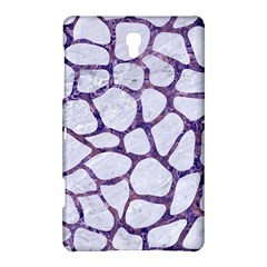 Skin1 White Marble & Purple Marble Samsung Galaxy Tab S (8 4 ) Hardshell Case  by trendistuff