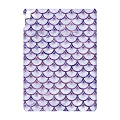 Scales3 White Marble & Purple Marble (r) Apple Ipad Pro 10 5   Hardshell Case by trendistuff