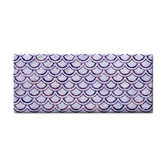 Scales2 White Marble & Purple Marble (r) Cosmetic Storage Cases by trendistuff