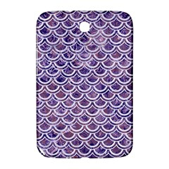 Scales2 White Marble & Purple Marble Samsung Galaxy Note 8 0 N5100 Hardshell Case  by trendistuff