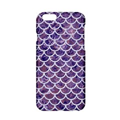 Scales1 White Marble & Purple Marble Apple Iphone 6/6s Hardshell Case by trendistuff