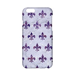 Royal1 White Marble & Purple Marble Apple Iphone 6/6s Hardshell Case by trendistuff