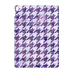 Houndstooth1 White Marble & Purple Marble Apple Ipad Pro 10 5   Hardshell Case by trendistuff