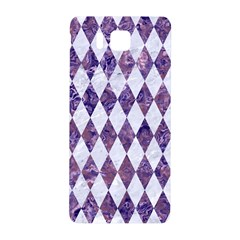 Diamond1 White Marble & Purple Marble Samsung Galaxy Alpha Hardshell Back Case