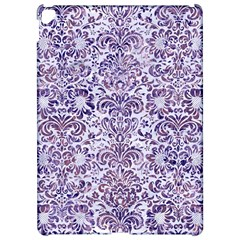 Damask2 White Marble & Purple Marble (r) Apple Ipad Pro 12 9   Hardshell Case by trendistuff