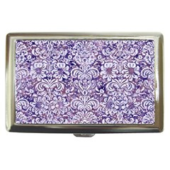 Damask2 White Marble & Purple Marble Cigarette Money Cases by trendistuff