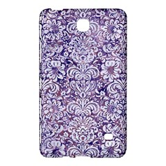 Damask2 White Marble & Purple Marble Samsung Galaxy Tab 4 (7 ) Hardshell Case  by trendistuff