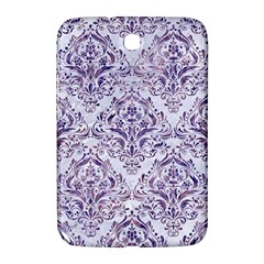 Damask1 White Marble & Purple Marble (r) Samsung Galaxy Note 8 0 N5100 Hardshell Case  by trendistuff