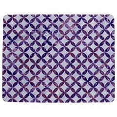 Circles3 White Marble & Purple Marble (r) Jigsaw Puzzle Photo Stand (rectangular) by trendistuff