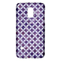 Circles3 White Marble & Purple Marble Galaxy S5 Mini by trendistuff