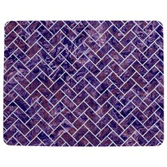 Brick2 White Marble & Purple Marble Jigsaw Puzzle Photo Stand (rectangular) by trendistuff