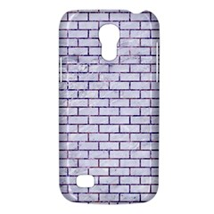 Brick1 White Marble & Purple Marble (r) Galaxy S4 Mini by trendistuff