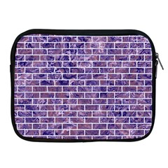 Brick1 White Marble & Purple Marble Apple Ipad 2/3/4 Zipper Cases by trendistuff