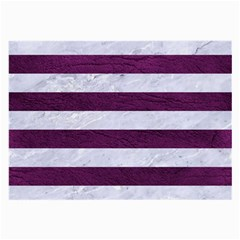 Stripes2white Marble & Purple Leather Large Glasses Cloth by trendistuff