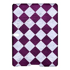 Square2 White Marble & Purple Leather Samsung Galaxy Tab S (10 5 ) Hardshell Case  by trendistuff