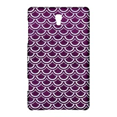 Scales2 White Marble & Purple Leather Samsung Galaxy Tab S (8 4 ) Hardshell Case  by trendistuff