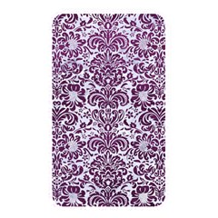 Damask2 White Marble & Purple Leather (r) Memory Card Reader by trendistuff