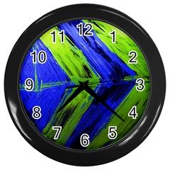 Point Of Equilibrium 7 Wall Clocks (black) by bestdesignintheworld