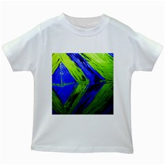 Point Of Equilibrium 7 Kids White T Shirts