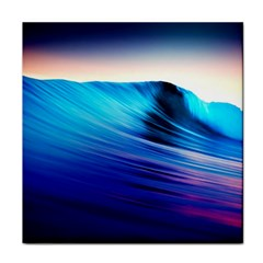 Rolling Waves Tile Coasters