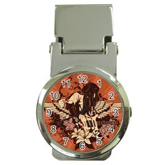 Rock Music Moves Me Money Clip Watches