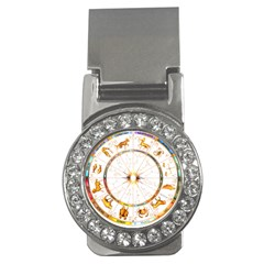 Zodiac  Institute Of Vedic Astrology Money Clips (cz)  by Sapixe