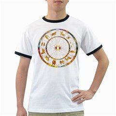 Zodiac  Institute Of Vedic Astrology Ringer T Shirts