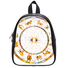Zodiac  Institute Of Vedic Astrology School Bag (small) by Sapixe