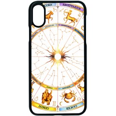 Zodiac  Institute Of Vedic Astrology Apple Iphone X Seamless Case (black)