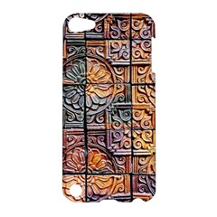 Wooden Blocks Detail Apple Ipod Touch 5 Hardshell Case by Sapixe