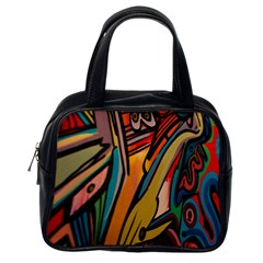 Vivid Colours Classic Handbags (one Side) by Sapixe