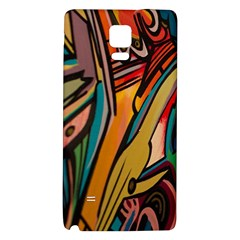 Vivid Colours Galaxy Note 4 Back Case